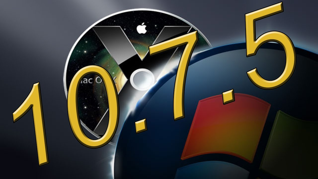 How To Install Mac OS X Lion 10 7 5 Retail On Intel/AMD PC (Image Download)