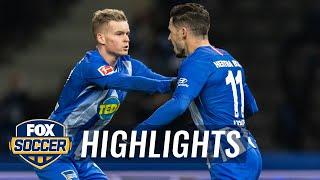 Hertha BSC Berlin's Mathew Leckie brings it level vs. Augsburg   2018-19 Bundesliga Highlights Video