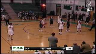 Boys Basketball- Webb Spartans vs. Grace Christian Academy