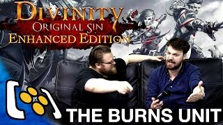 Divinity Original Sin Enhanced Edition - Xbox One Gameplay - The Burns Unit