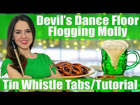 Flogging Molly - Devil's Dance Floor | TIN WHISTLE TABS TUTORIAL