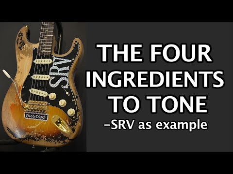 The 4 Ingredients of Guitar Tone - SRV example
