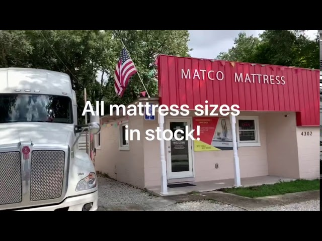 All mattress size in stock in our Store!