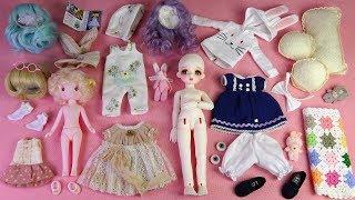 ★구체관절인형 리나슈슈한정 오픈마우스 미우 개봉기★Ball Jointed Doll LINA chouchou Openmouth MIU Unboxing/Doll Dress Up