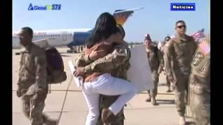 Decenas de Soldados Regresan a Casa thumbnail
