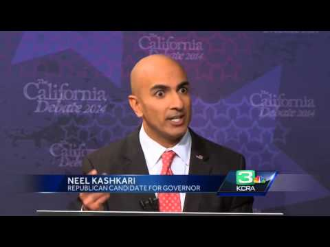 Kashkari slams Brown over Tesla in gubernatorial debate