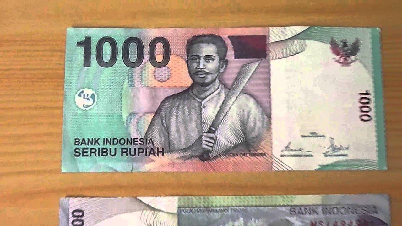 The 1 000 Seribu Rupiah Papermoney Note