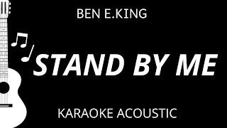 Stand By Me - Ben E. King (Karaoke Acoustic Guitar)