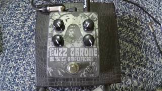 Dunwich Amps Fuzzthrone Bass Demo