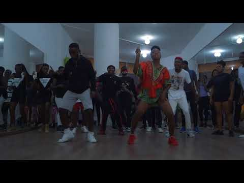 Littest Ghana Dance Workshop| Yoofi Greene & Rhockstarz thumbnail