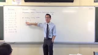 Dividing Integers: Introduction (and relation to other operations)