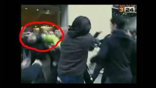 Cau de llunes: Repressió policial en acte contra la violència de gènere. Tarragona
