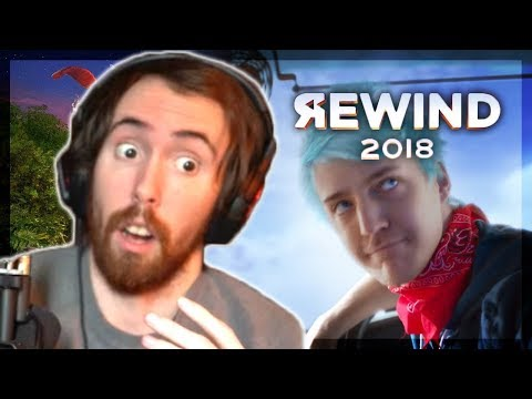 """""""Wait, Is This Fortnite!?"""" Asmongold Reacts to YouTube Rewind 2018 (it's terrible)"""