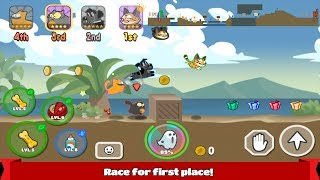 Pets Race - Fun Multiplayer PvP Online Racing Game Android Gameplay