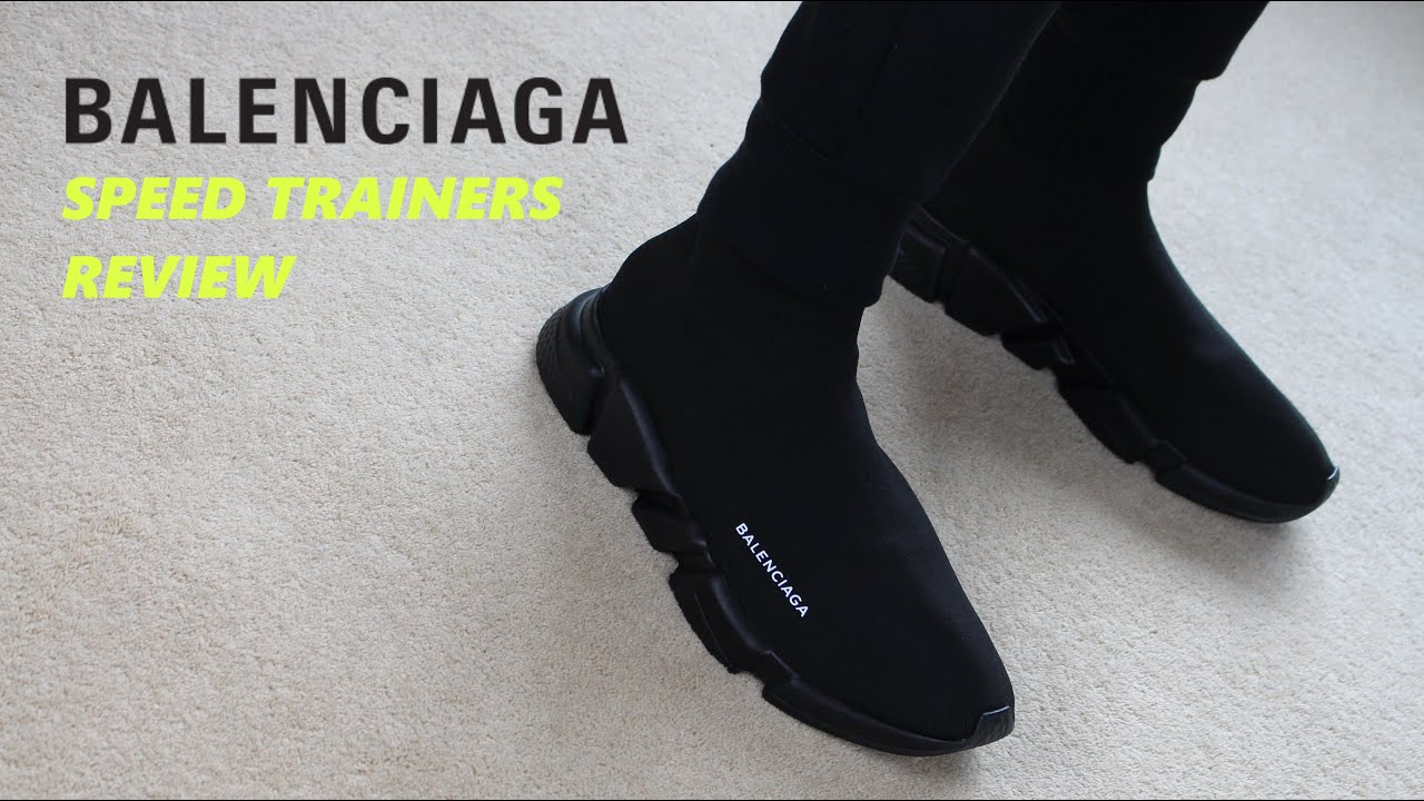 Are Balenciaga Speed Trainers Worth It Balenciaga Fit Review Youtube