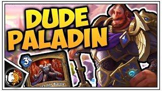 Hearthstone: Wild Dude Paladin - Odd Paladin - Rise Of Shadows