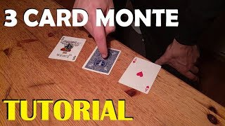 3 Card Monte - In Depth Tutorial - The Best Card Trick!