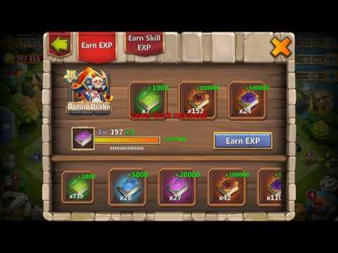 Castle Clash   Dread Drake - Hero LEVEL, SKILLS And TALENT MAX LEVEL!