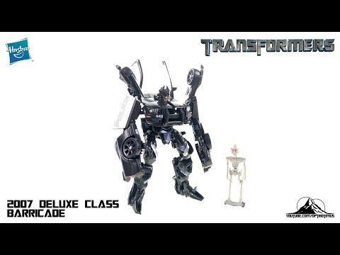Optibotimus Looks Back Episode 09: 2007 Transformers Deluxe Class BARRICADE
