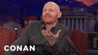 Bill Burr Doesn't Trust Technology  - CONAN on TBS