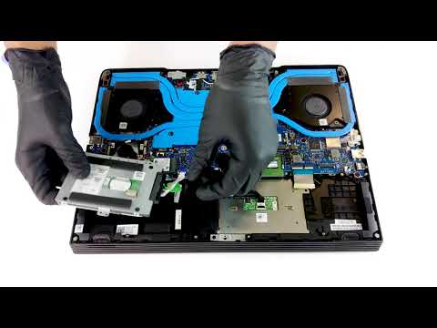 Dell G5 15 5590 - disassembly and upgrade options - YouTube