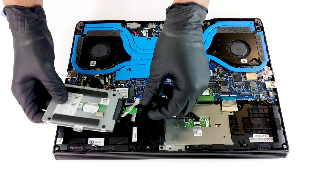 Dell G5 15 5590 - disassembly and upgrade options