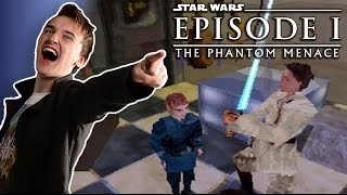Game REVIEW ✯Star Wars: Episode I - The Phantom Menace✯ [PS1]