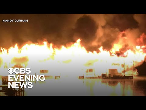 At Least 8 Killed In Alabama Boat Fire