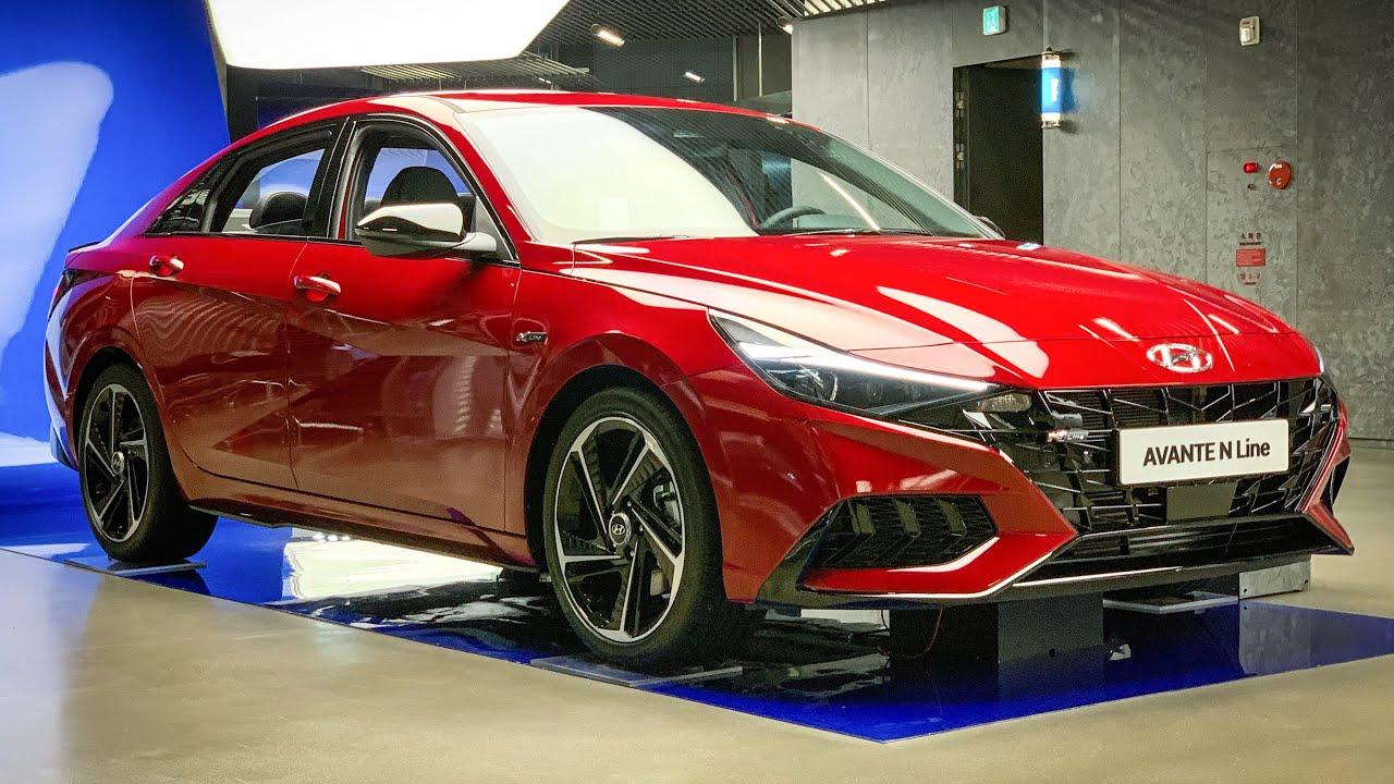 The All New 2021 Hyundai Elantra N-LINE (CN7) Interior&Exterior First Look