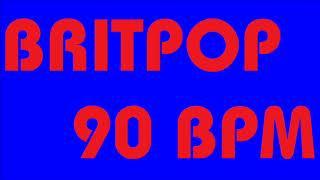 BRITPOP STYLE ① BACKING DRUM TRACK -90 BPM-