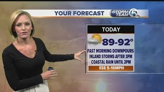 South Florida Thursday morning forecast (8/20/15)