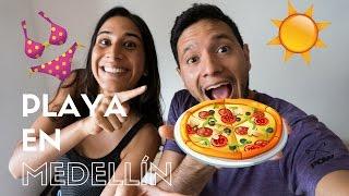 Venezolanos En Medellín: Pizza SIN HORNO + Nos Fuimos A La Playa  Frambuesa Y Piña