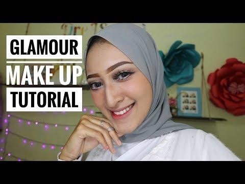 Glam Makeup Tutorial | Seviq Febinita