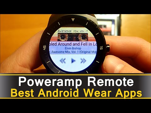 Poweramp Remote - Best Android Wear Apps Series