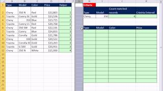 Excel Magic Trick 900: Simulate Filter With Formula to Create Immediate Filter Results
