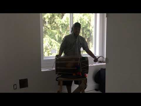 How to play Bhangra on a Dhol