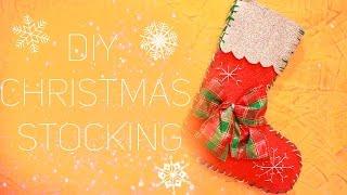 DIY: Christmas stocking  ❄ Рождественский носок  ❄