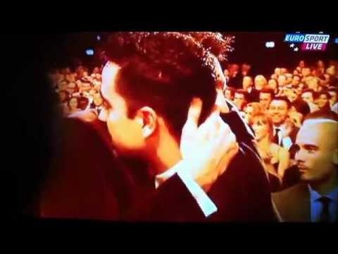 FIFA Ballon d'Or 2011 with Ronaldo(El fenómeno)