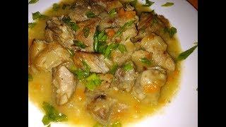 Как Вкусно Приготовить Мясо с Подливой# Тушенное мясо