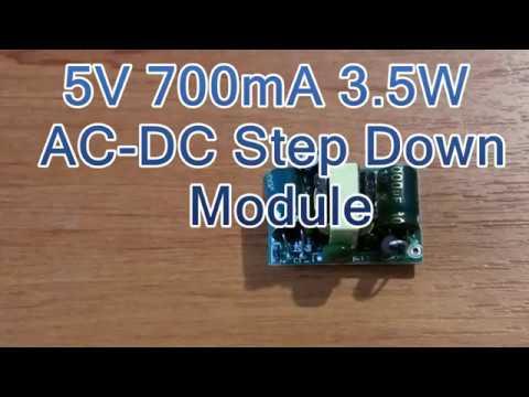 Banggood 5V 700mA 3 5W AC DC Step Down Isolated Switching Power Supply  Module
