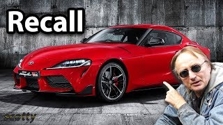 The New Toyota Supra is Already Being Recalled, Here's Why