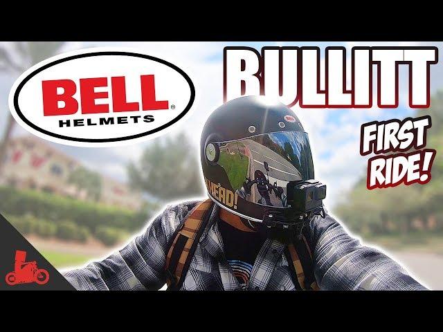 Bell Bullitt Motorcycle Helmet - First Ride!