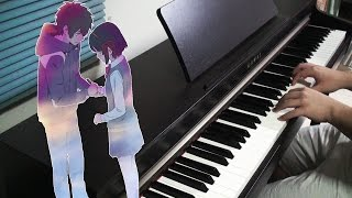 Kimi no Na wa OST - かたわれ時 [Katawaredoki] on Piano
