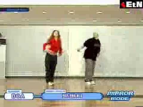 BoA: Valenti Dance Steps
