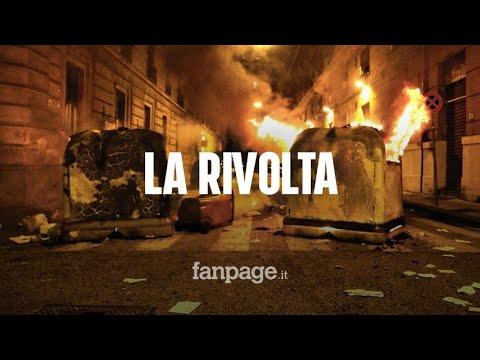 Napoli, la cronaca della notte di guerriglia contro il coprifuoco imposto da De Luca