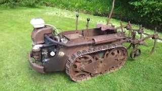 Ransomes MG5 crawler tractor - currently for sale on eBay UK