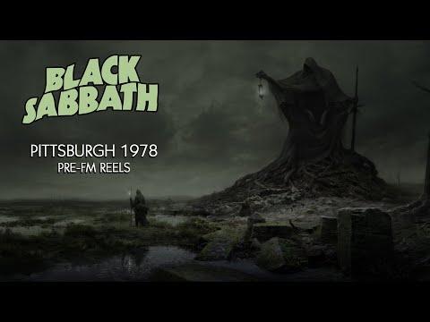 Black Sabbath - 1976.12.08 Pittsburgh Pre FM Reels Unedited