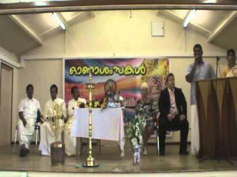 Kerala Association Stafford-Onam 2012-Inauguration
