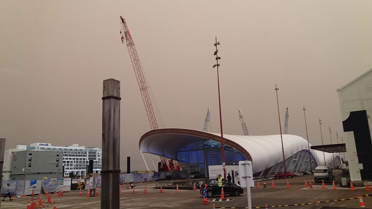 Smoke from Australia bush fires comes to New Zealand.  Как дым из Австралии накрыл Новую Зеландию.