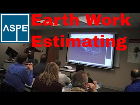Earth Work Estimating, Mass excavation Estimating, ASPE Chap